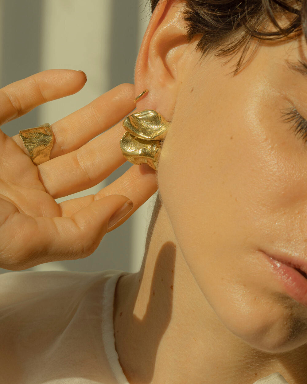 Eyde | Cecelia | Brass Earrings | Hazel & Rose | Minneapolis