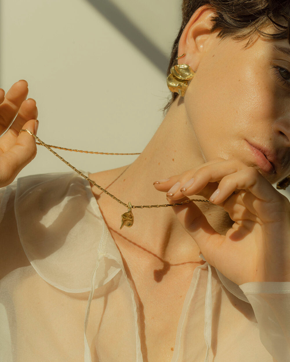 Eyde | Palomba | Brass Necklace | Hazel & Rose | Minneapolis