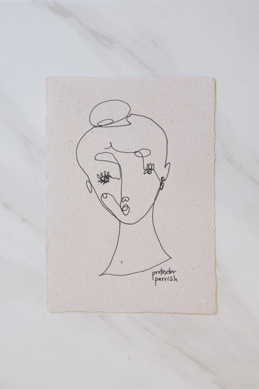 CONTOUR DRAWING | No. 11