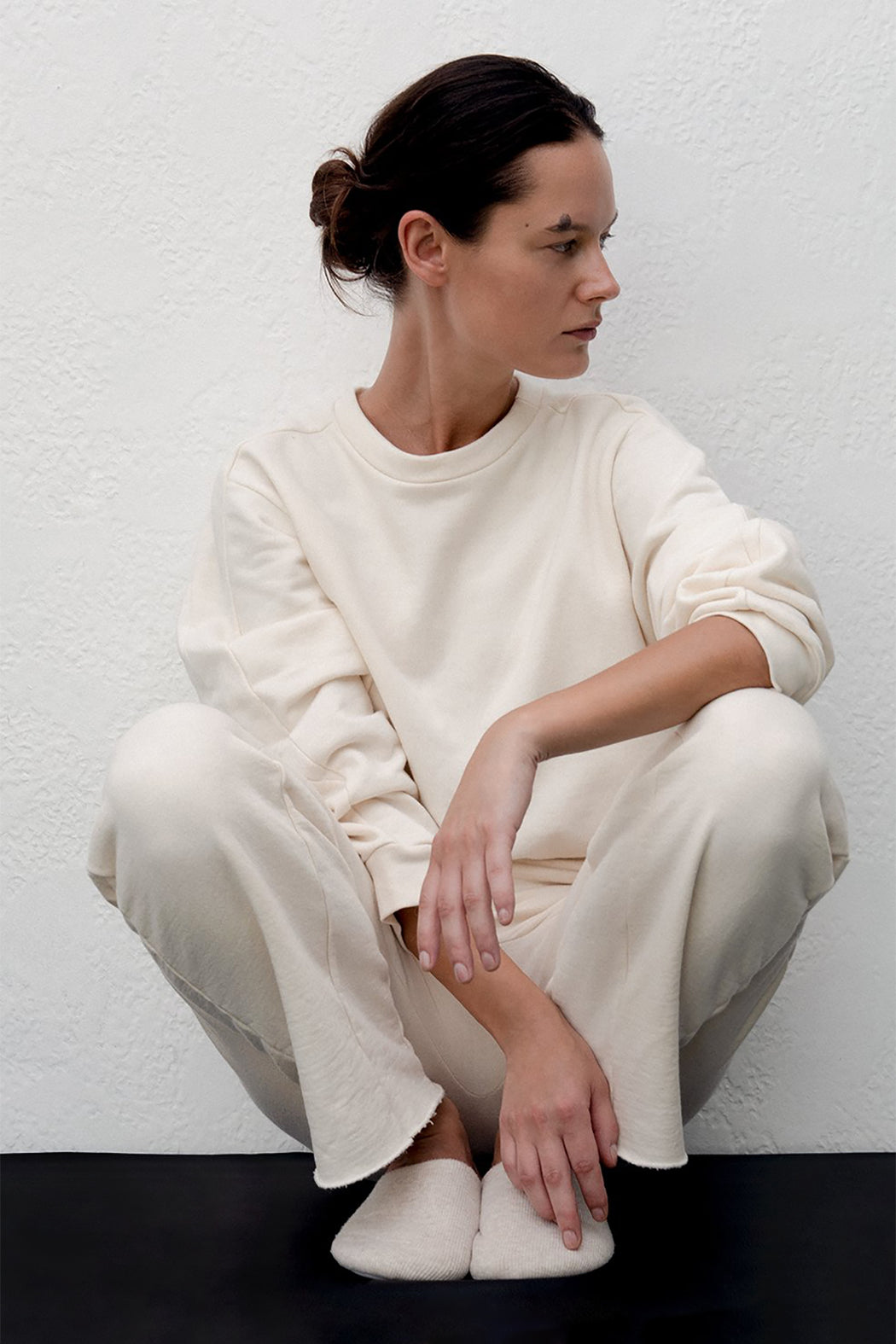 Wol Hide | EASY SWEATPANT | NATURAL | HAZEL & ROSE | MINNEAPOLIS