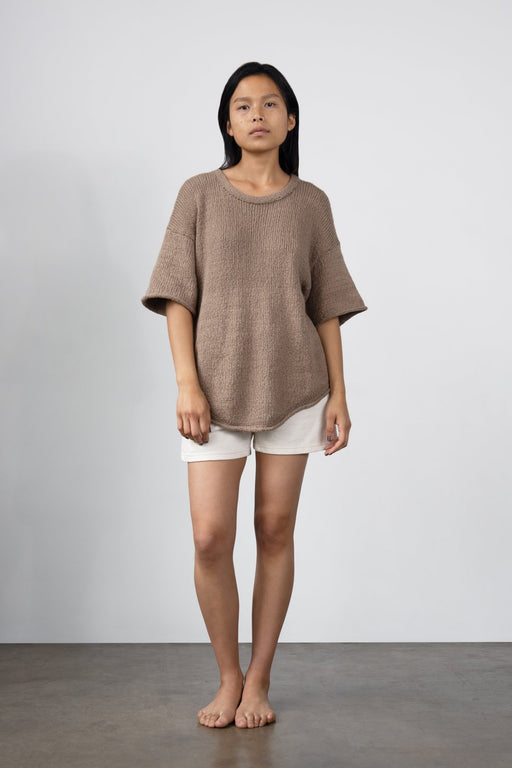 Wol Hide | Loose Pullover | Mushroom | Hazel & Rose | Minneapolis