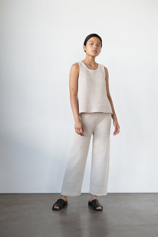 Wol Hide | Mesh Lounge Pant | Sand | Hazel & Rose | Minneapolis