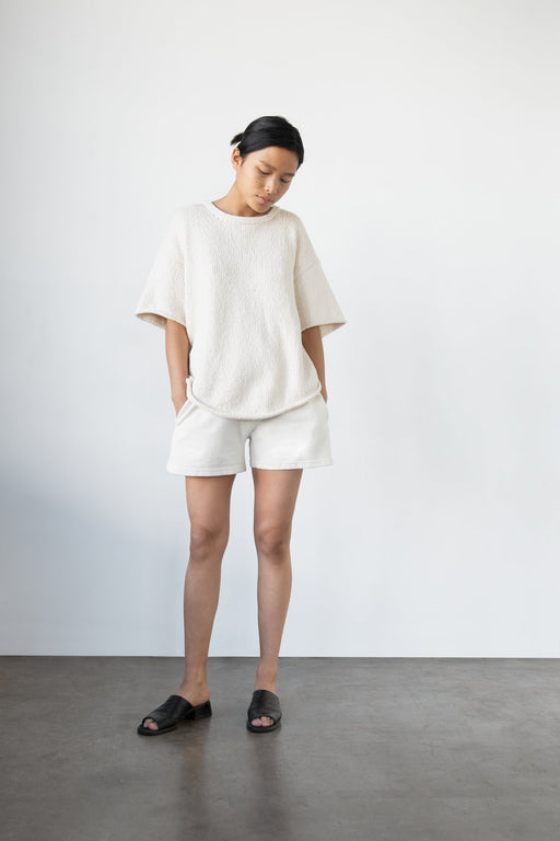Wol Hide | Loose Pullover | Ecru | Hazel & Rose | Minneapolis