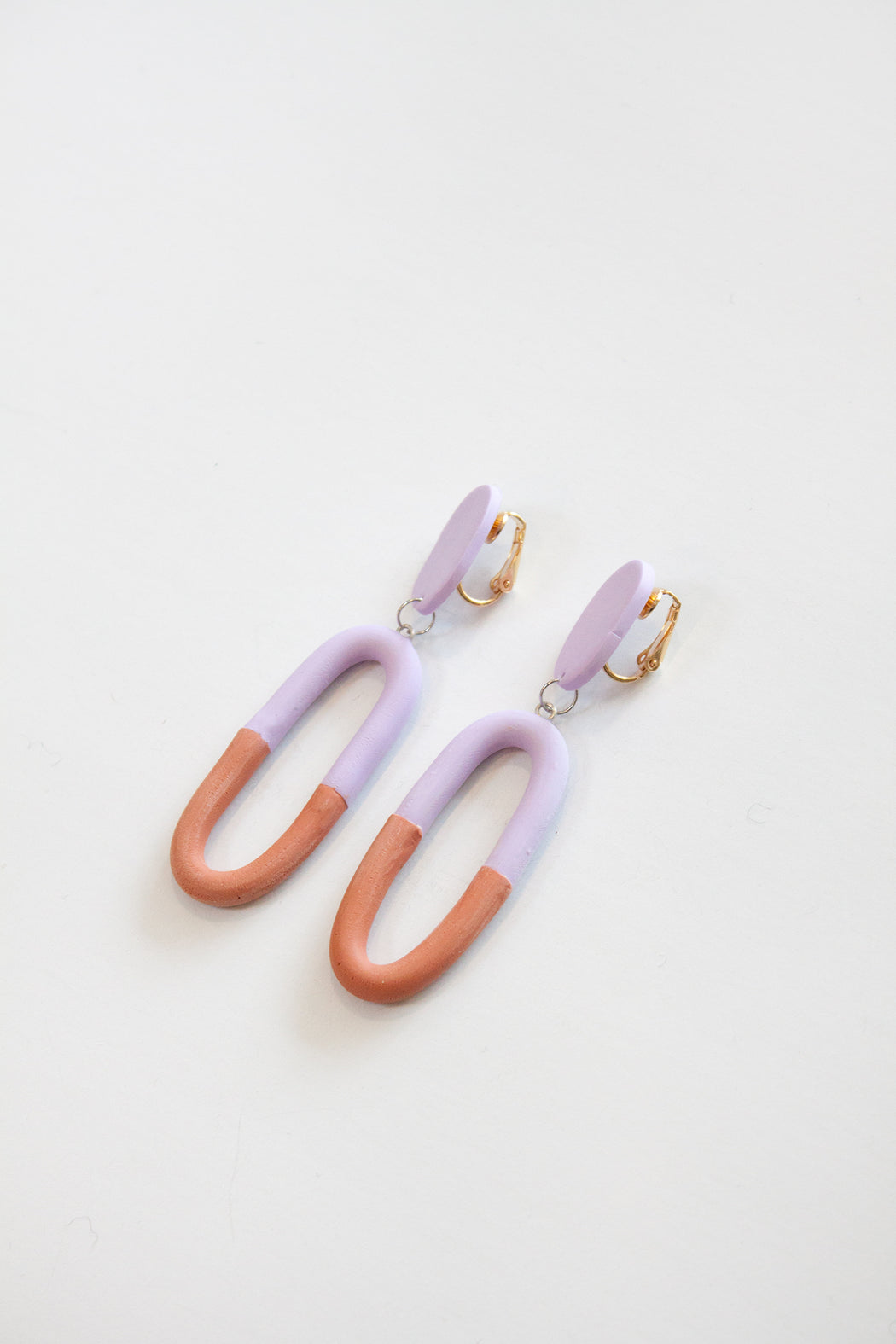 THE DAPHNE CLIP~ON | LAVENDER & SIENNA