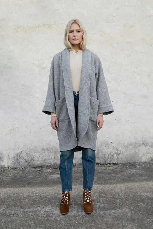 CORA DUSTER | HARBOR GREY