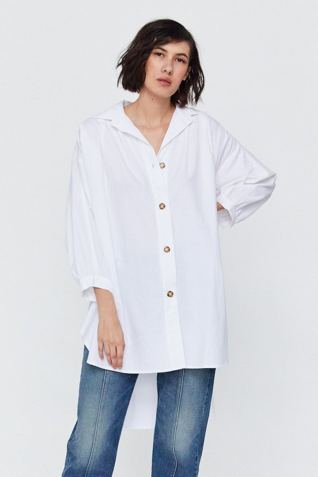 Esby Apparel Ethical Fashion | Chelle Oversized Top | Hazel & Rose