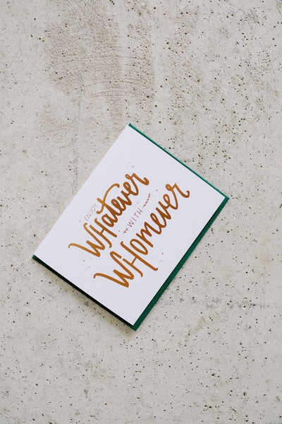 Hello, I'm Kate! Cards | Enjoy Whatever with Whomever | Hazel & Rose