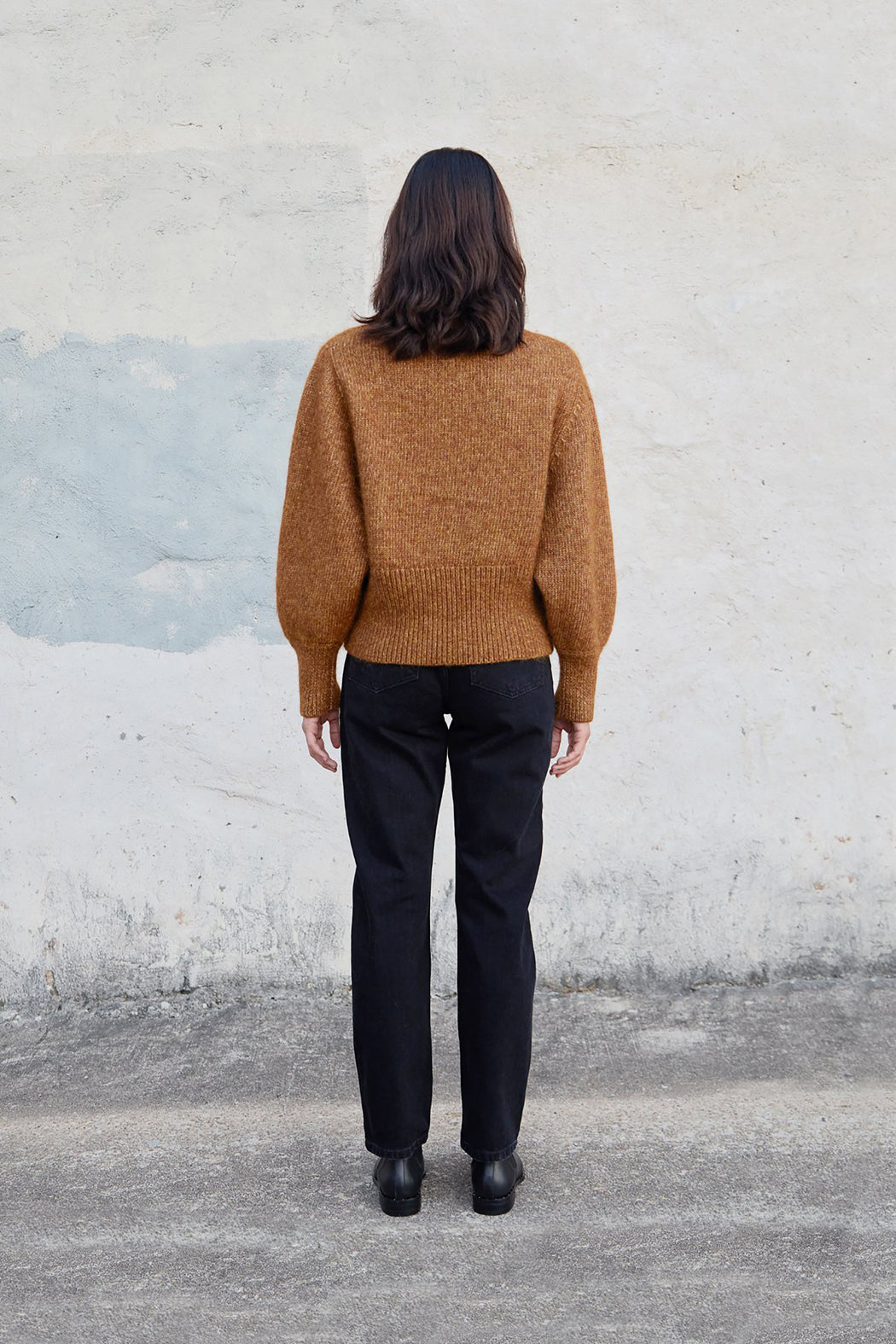 Esby | Quinn Sweater | Butterscotch | Hazel & Rose | Minneapolis