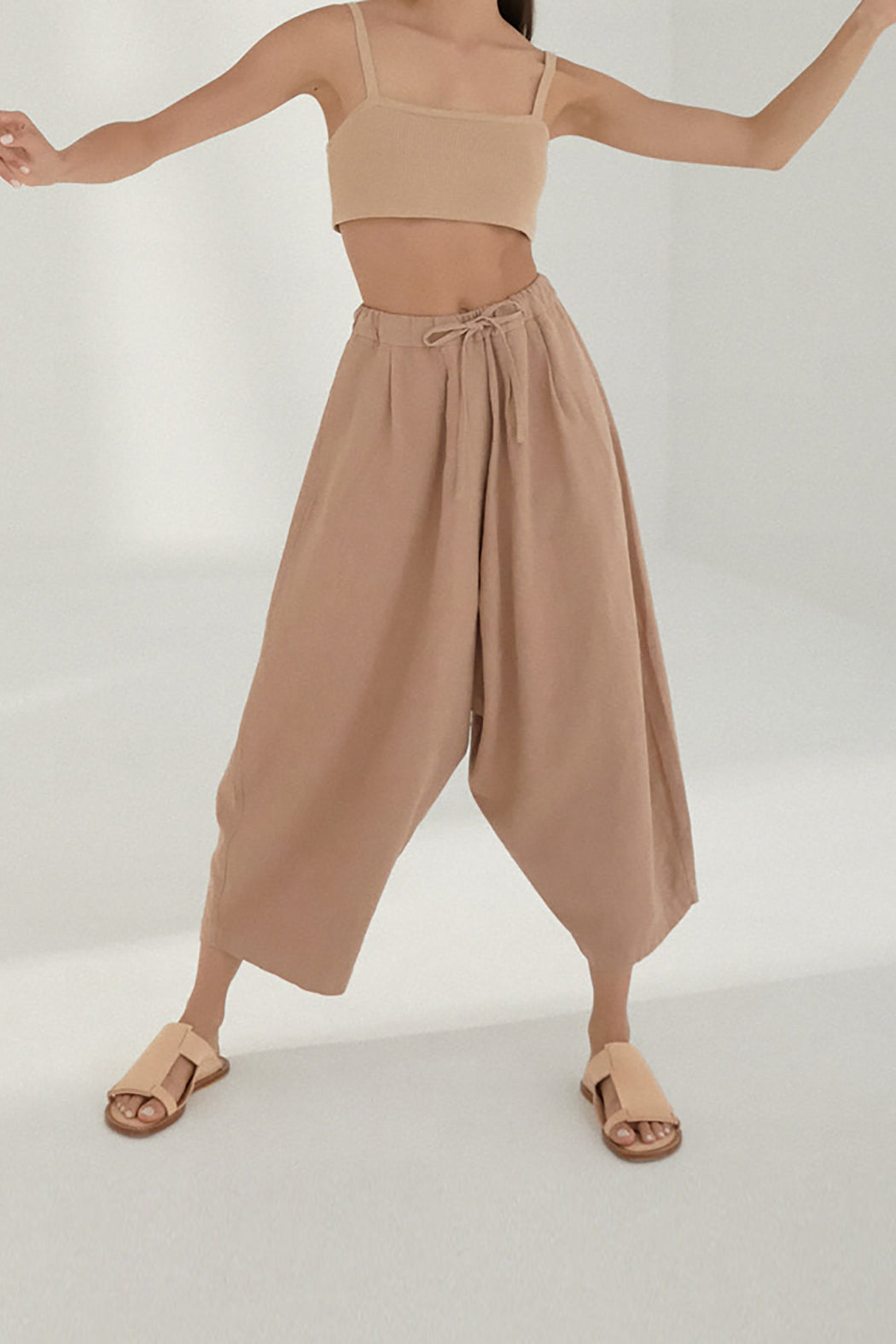 Mónica Cordera | MAXI RAMIE PANTS | CORK | Hazel & Rose | Minneapolis