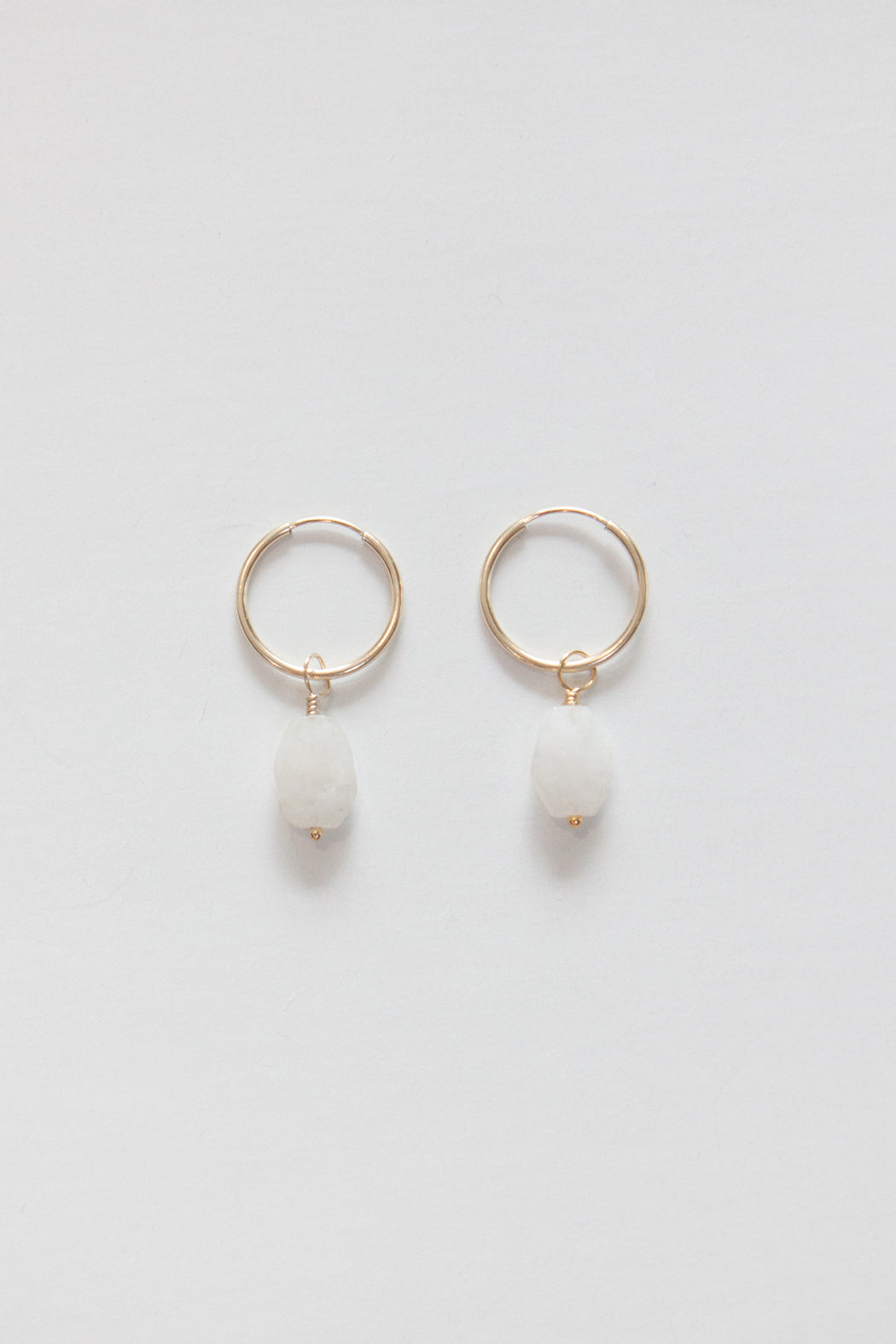 Golden Rule | Faceted Rainbow Moonstone | Hazel & Rose | Minneapolis