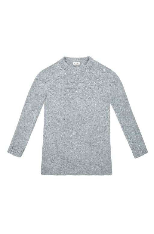 GORGES SWEATER | HEATHER GREY