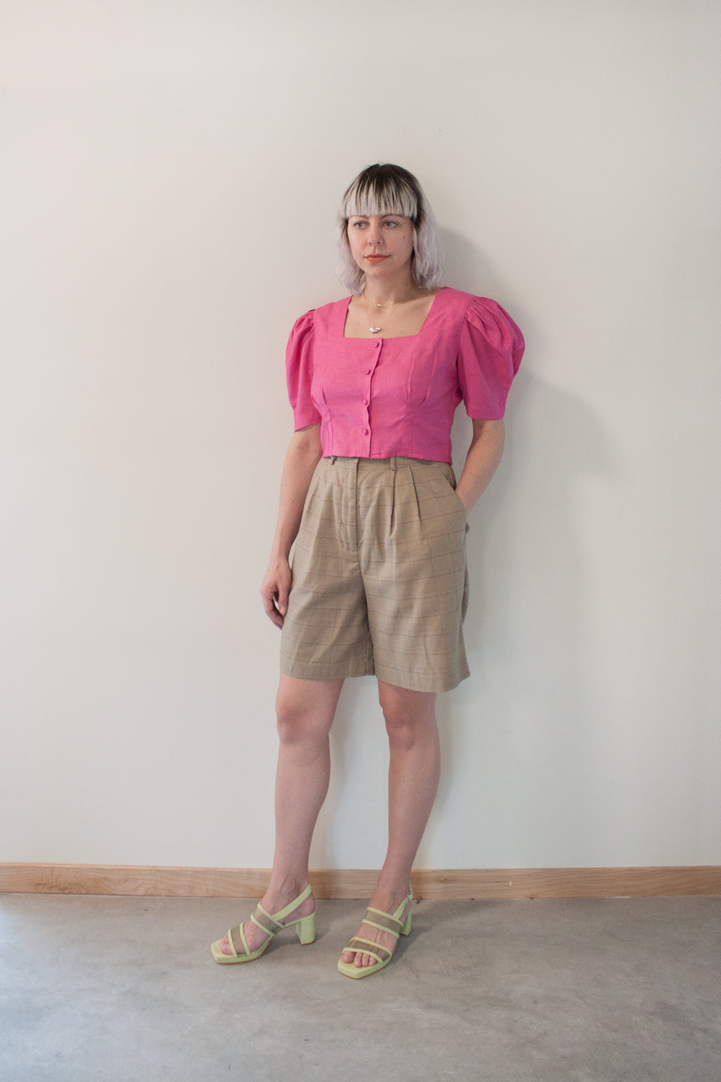 Hannah Kristina Metz | Harriet Blouse | Raspberry | Hazel & Rose