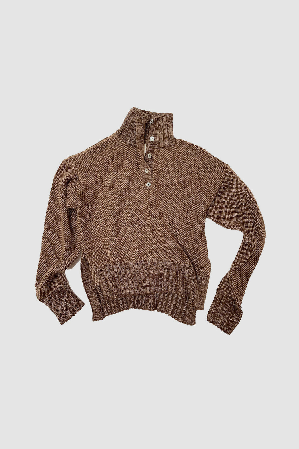 Bang Sweater Henley | Chocolate