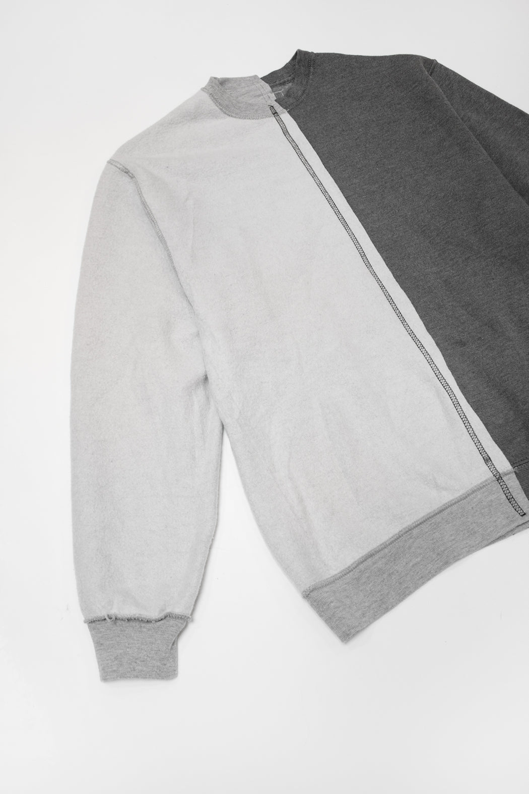 Re-Worked 2-Tone Sweatshirt No. 05