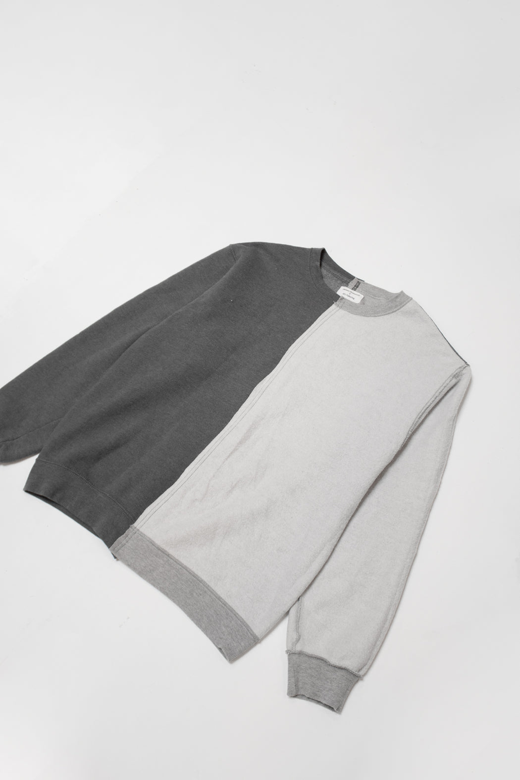 Re-Worked 2-Tone Sweatshirt No. 06