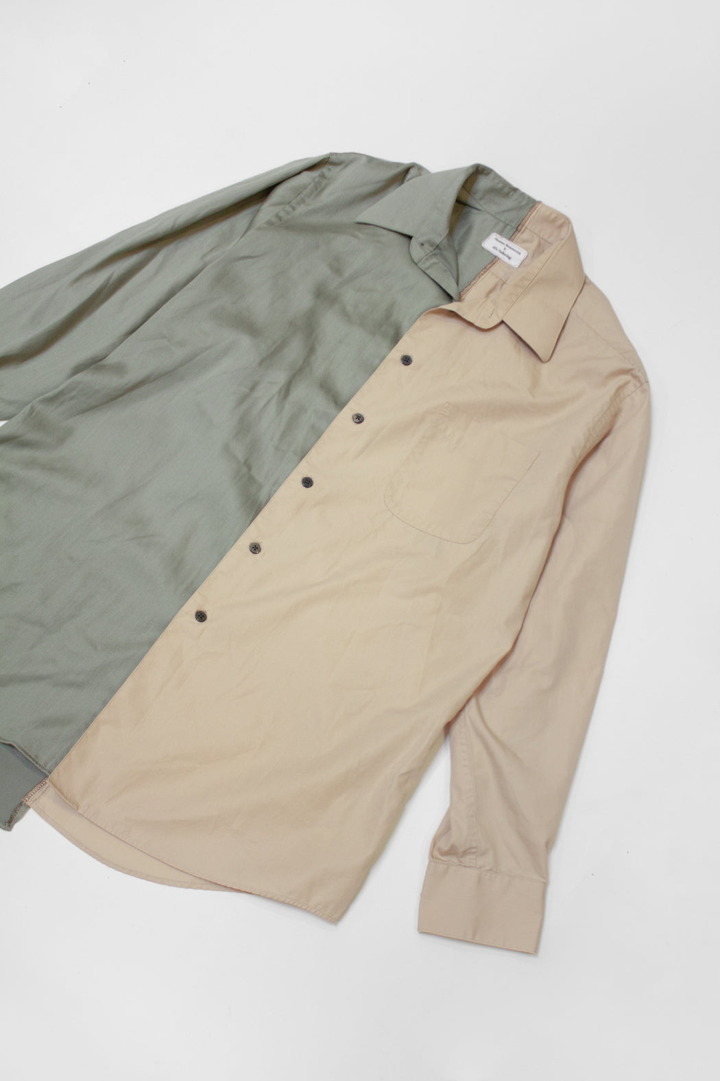 Re-Worked 2-Tone Button-Up | No. 05
