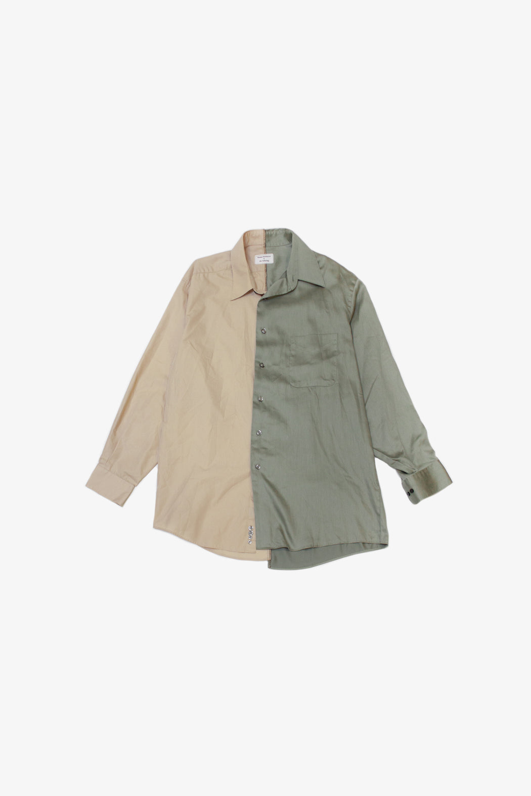 Re-Worked 2-Tone Button-Up | No. 06
