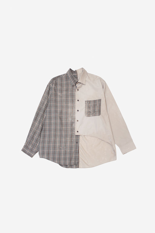 Re-Worked 2-Tone Button-Up | No. 07