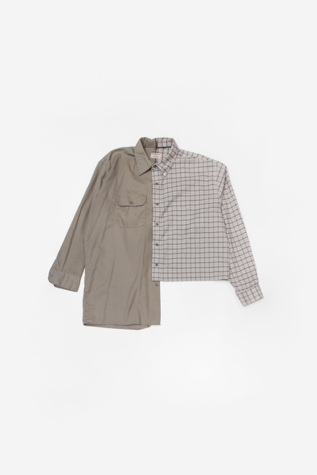 Re-Worked 2-Tone Button-Up | No. 13