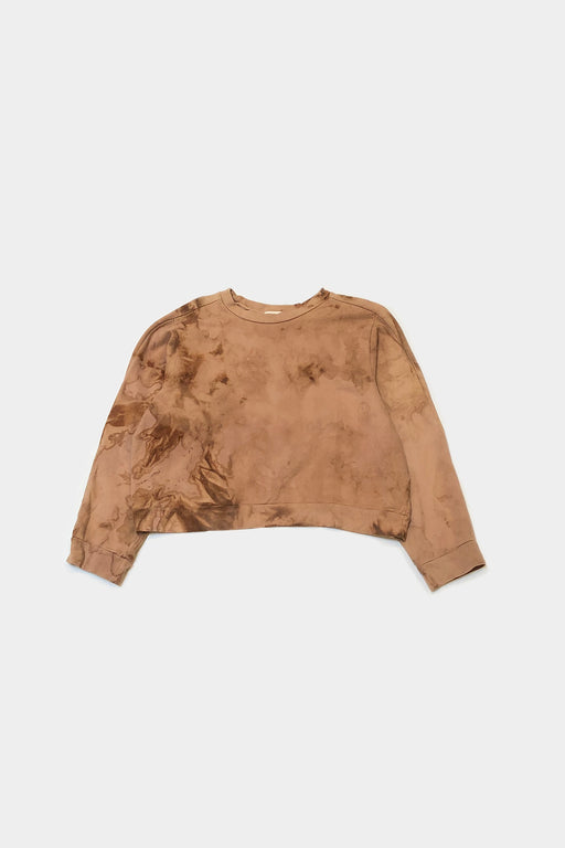 EASY SWEATSHIRT | DYED RAW SIENNA