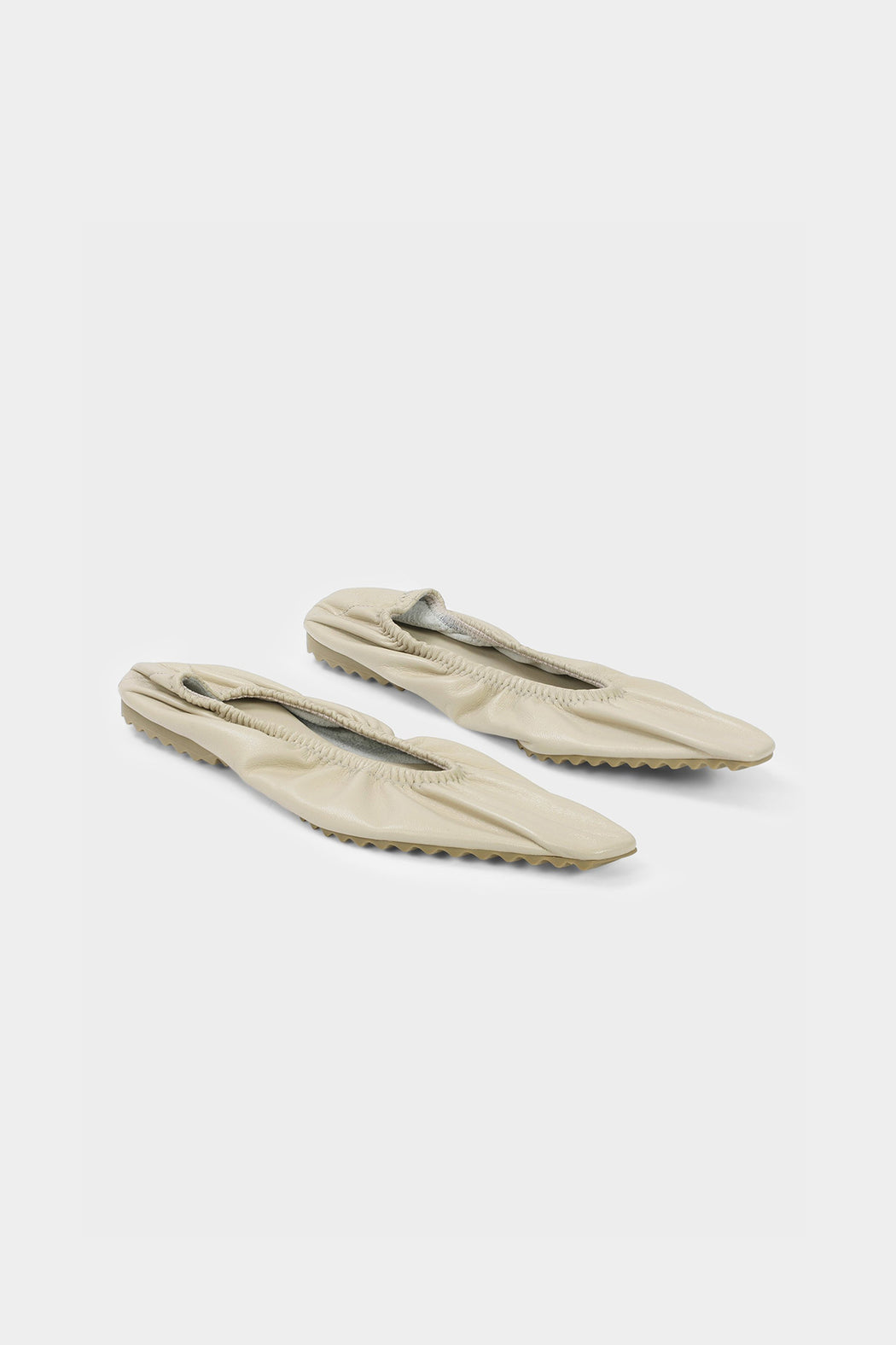 Modern Weaving | Lamb Ballet Flat | Ecru | Hazel & Rose | Minneapolis