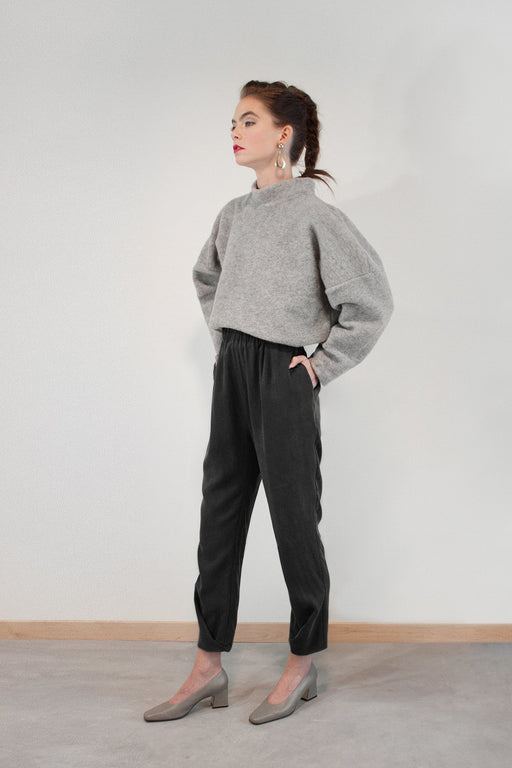 Joeleen Torvick | Tab Pant | Black | Hazel & Rose | Minneapolis