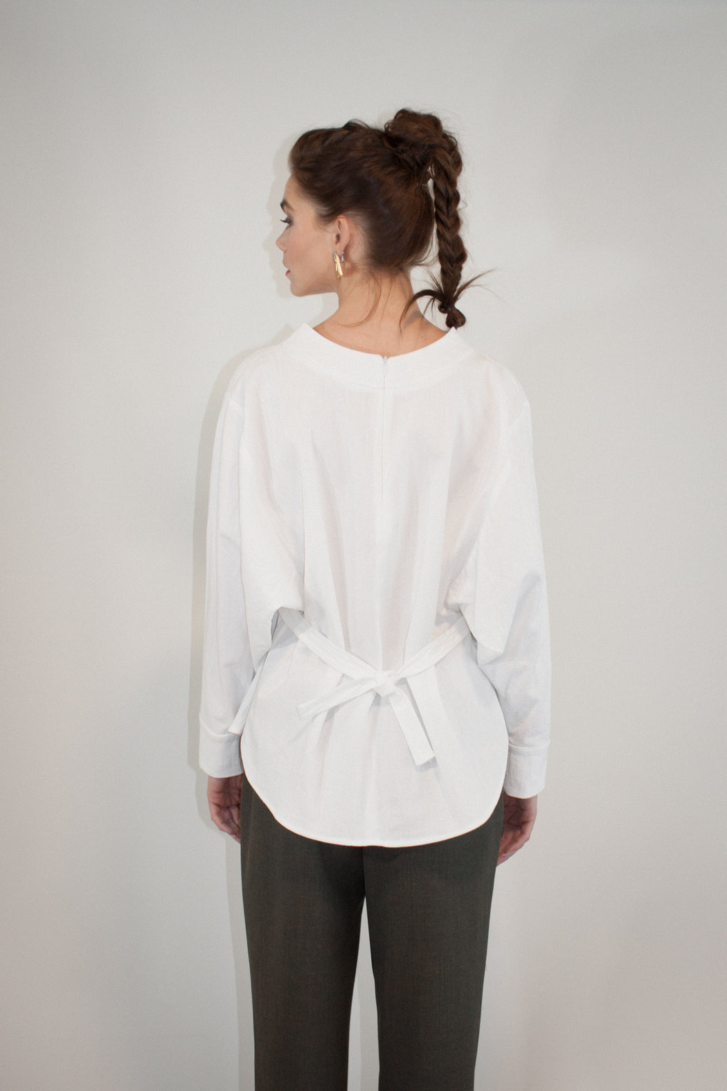 Joeleen Torvick | Jubilee Blouse | White | Hazel & Rose | Minneapolis