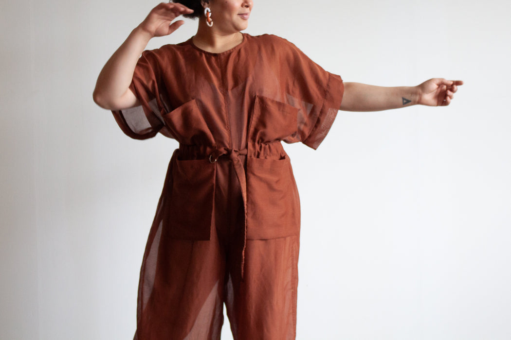 The Kate Jumpsuit | Exclusive Silk