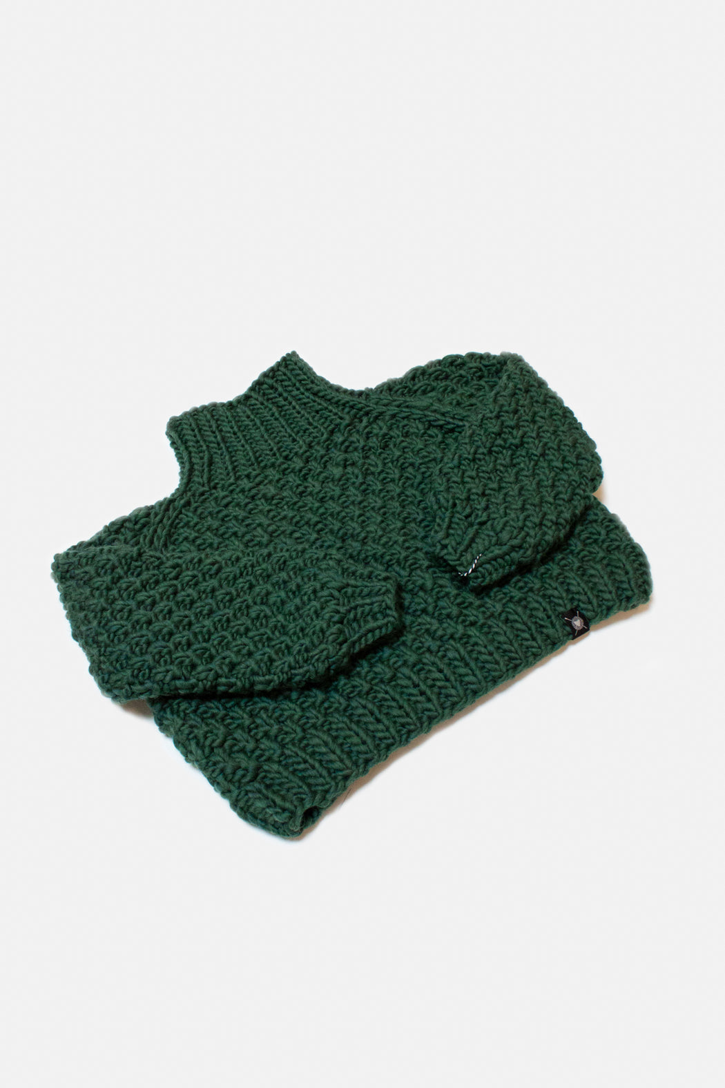 Not To Be Mocked Sweater | Forest