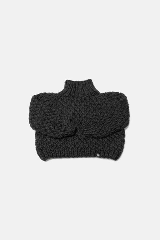 Not To Be Mocked Sweater | Almost Black