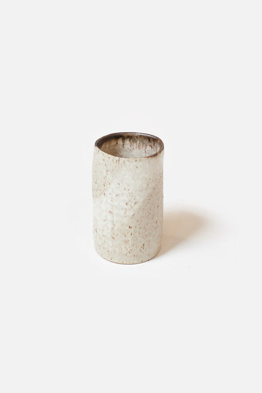 Gina DeSantis Ceramics | Medium Luna Cylinder Vase | Sand | Hazel & Rose | Minneapolis | Minnesota