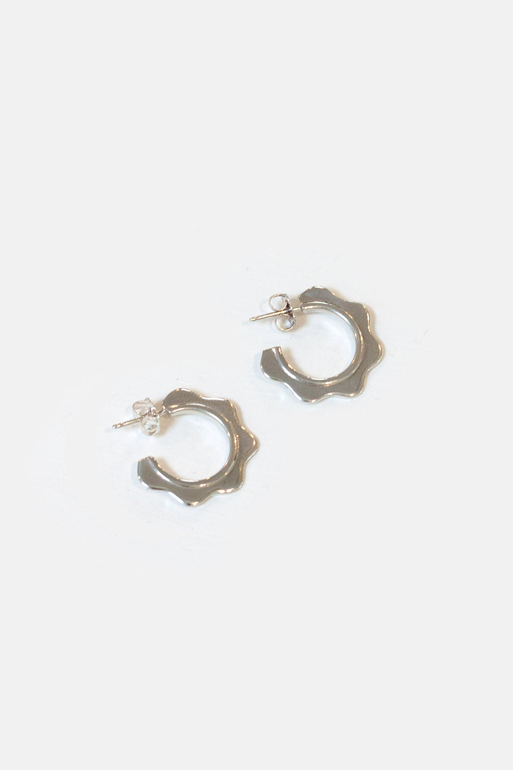 Artifacts NYC | Wave Hoops | Sterling Silver | Hazel & Rose | Minneapolis