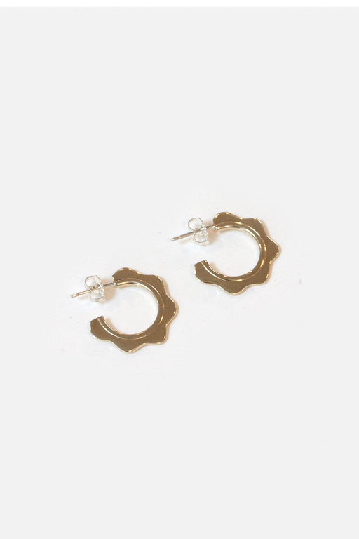 Artifacts NYC | Wave Hoops | Brass| Hazel & Rose | Minneapolis
