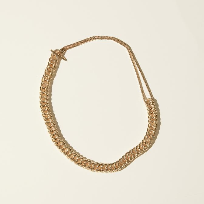 Maslo Jewelry | Curb Chain Necklace | Hazel & Rose | Minneapolis
