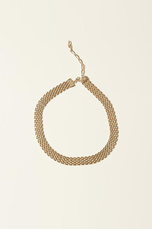Large Flat Chain Necklace