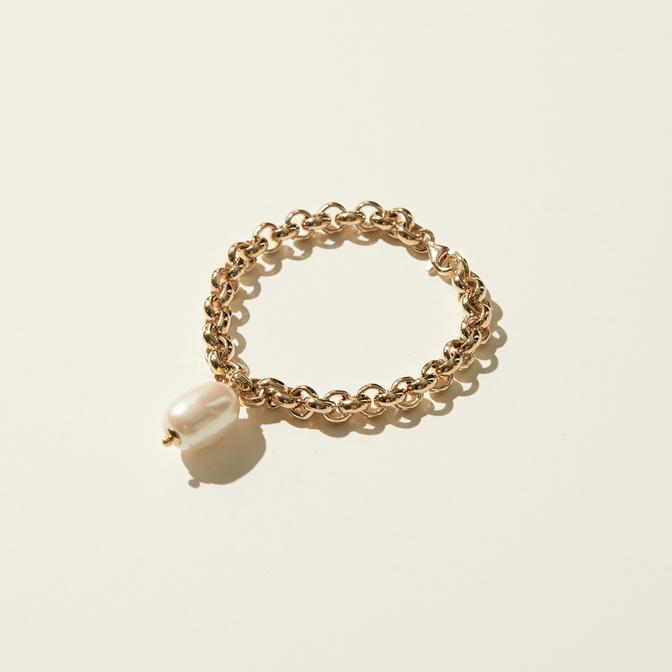Maslo Jewelry | Rolo Pearl Bracelet | Hazel & Rose | Minneapolis
