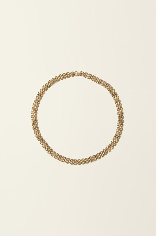 Small Flat Chain Necklace