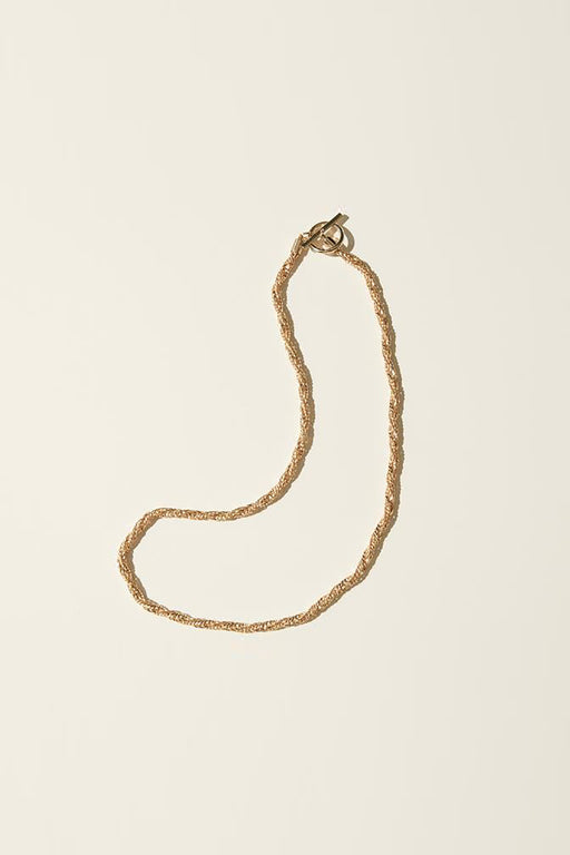 Thick Textured Toggle Necklace