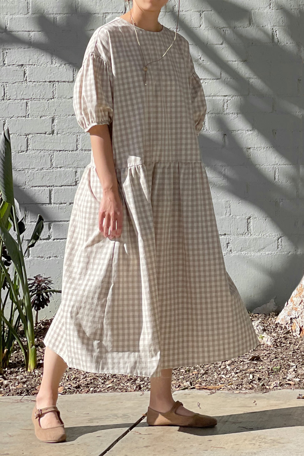 April Meets October | Summer May Dress | Beige | Hazel & Rose | Minneapolis