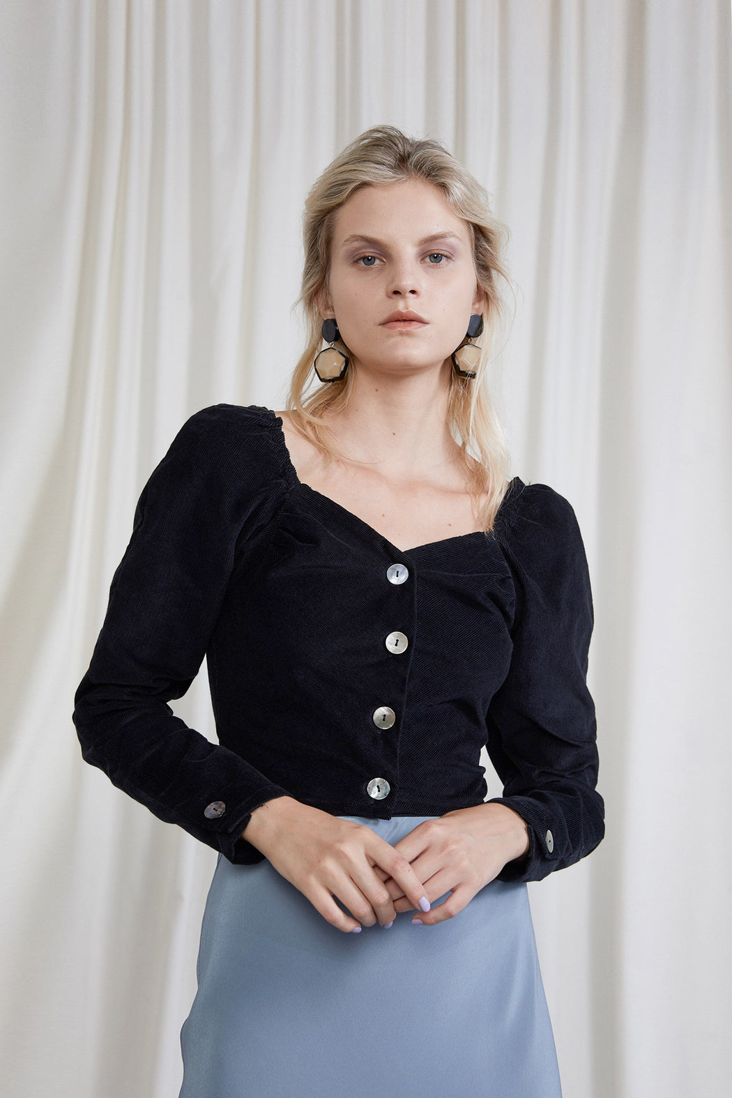 OVNA OVICH | VIRGINIA TOP | ONYX | HAZEL & ROSE | MINNEAPOLIS