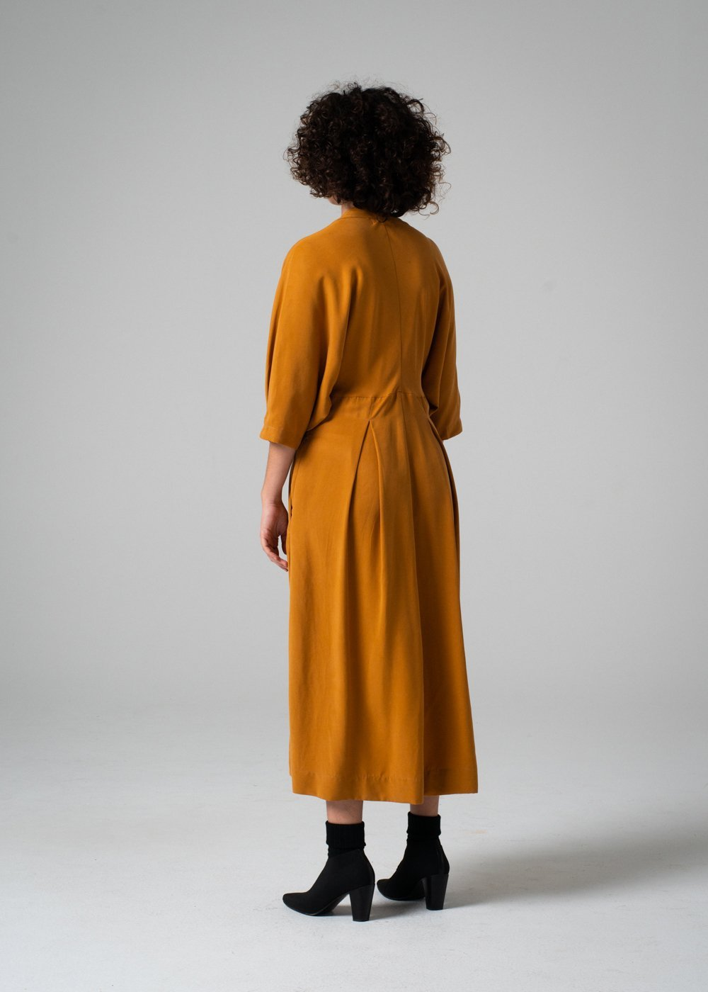 REIFhaus | EMI DRESS | TURMERIC | HAZEL & ROSE | MINNEAPOLIS