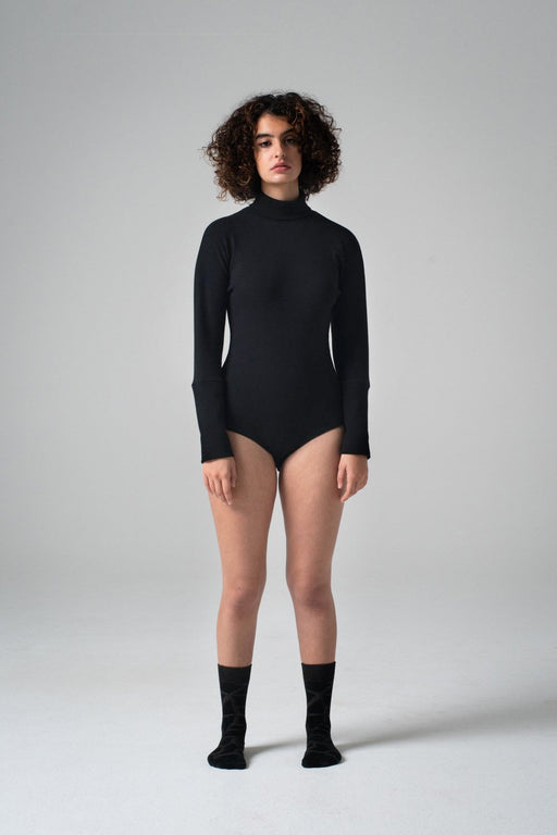 REIFhaus | KANO BODYSUIT | BLACK RIB | HAZEL & ROSE | MINNEAPOLIS