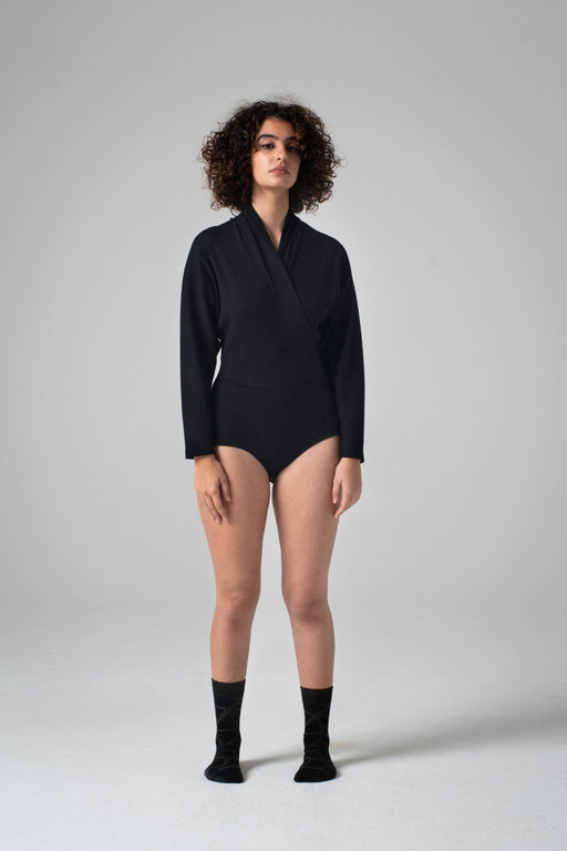REIFhaus | NORI BODYSUIT | BLACK RIB | Hazel & Rose | MINNEAPOLIS