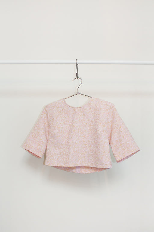 Vintage Brocade Crop | Hazel & Rose | Minneapolis, MN