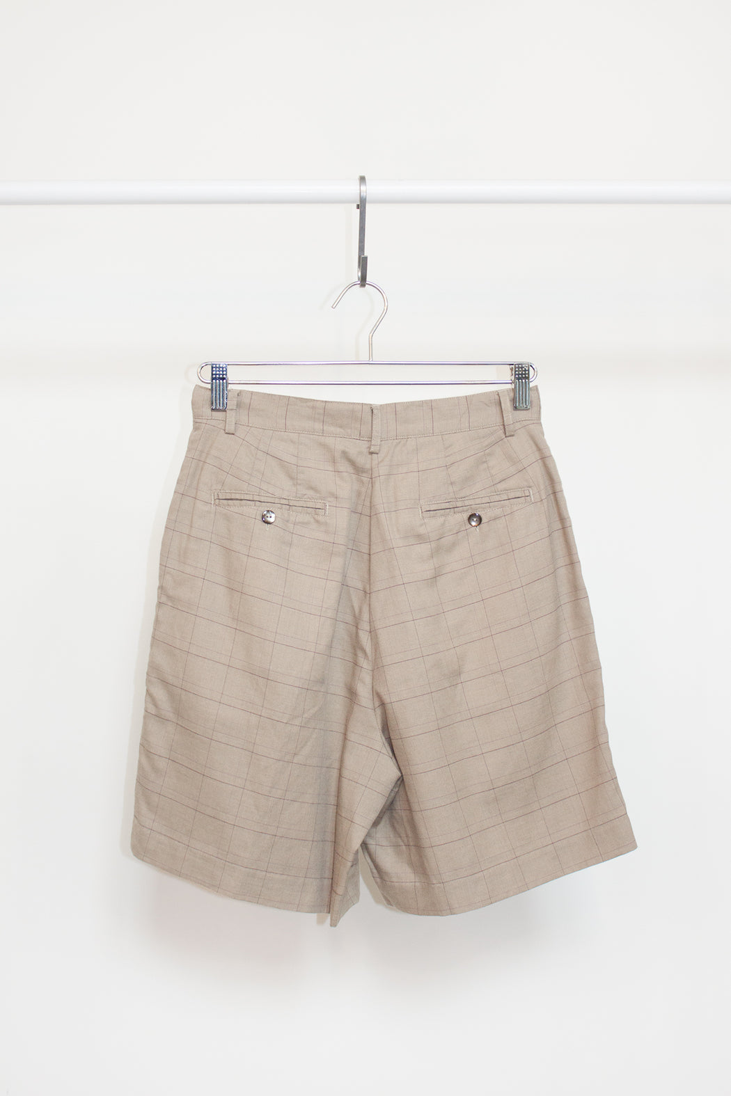 Vintage Windowpane Shorts | Hazel & Rose | Minneapolis, MN