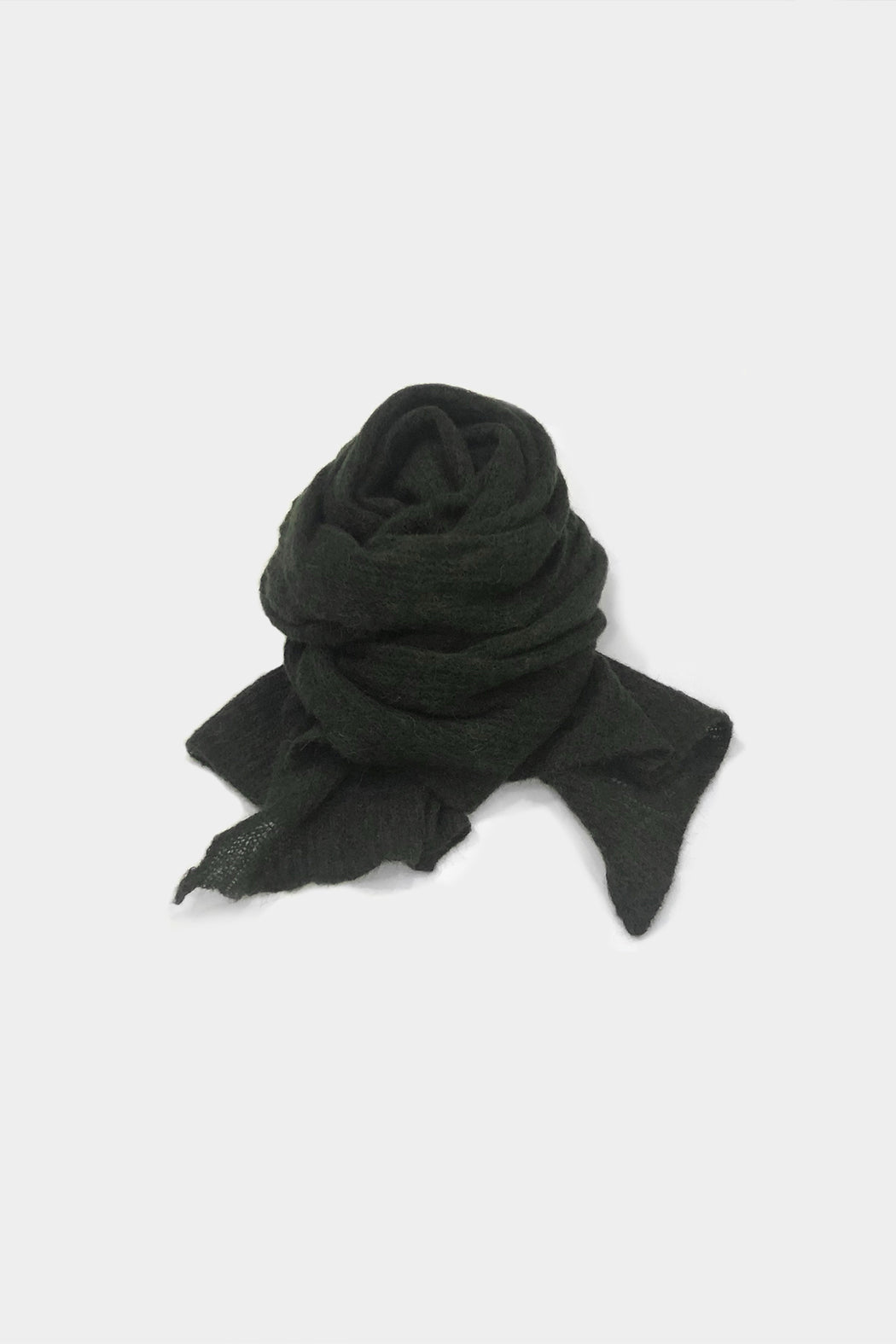 Monica Cordera | Soft Alpaca Maxi Scarf | Green | Hazel & Rose | Minneapolis