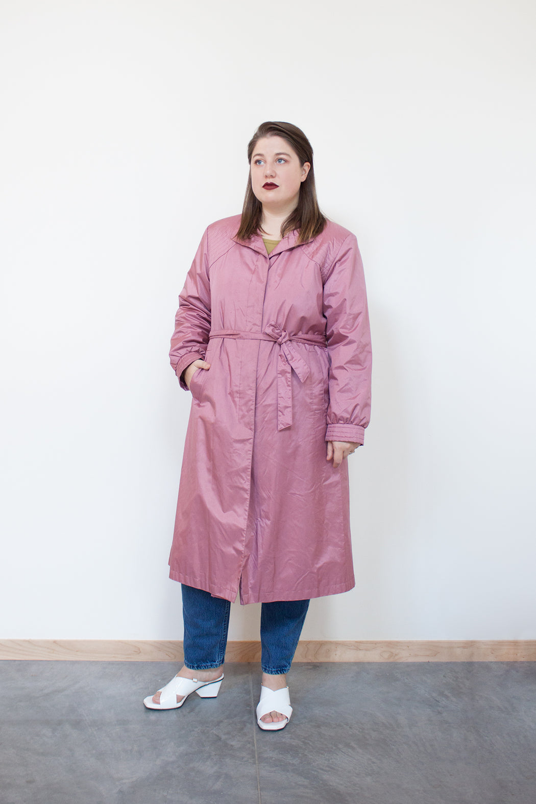 Vintage Quilted Detail Coat | Hazel & Rose | Minneapolis, MN