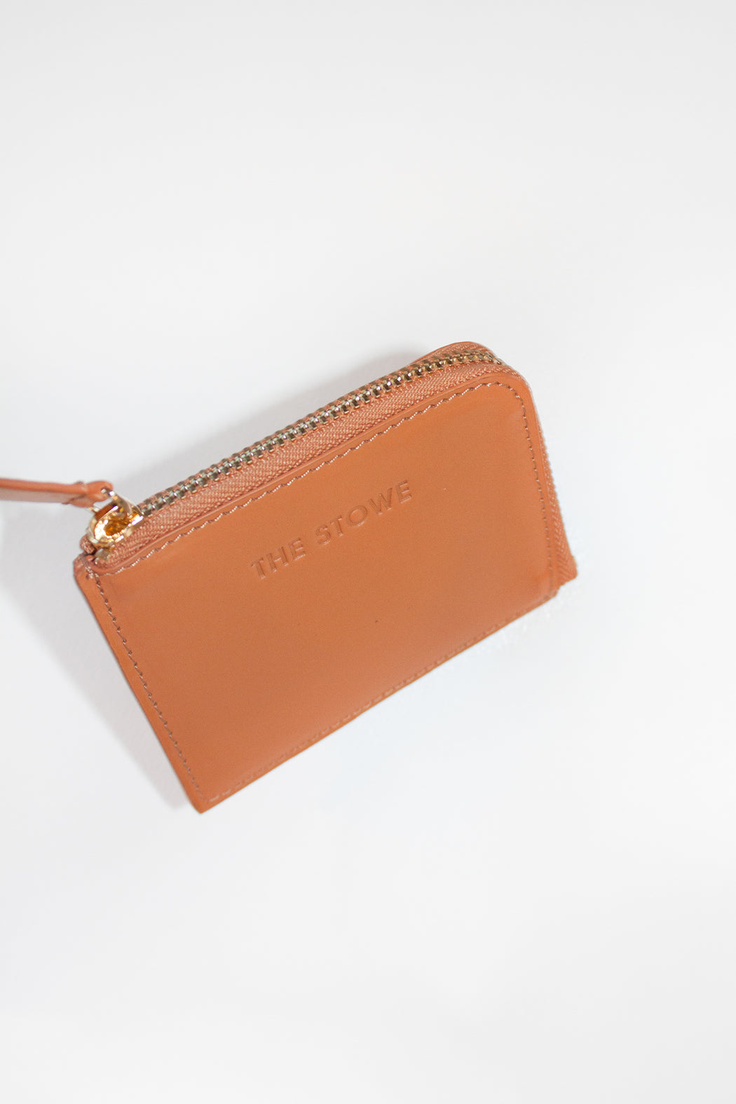 The Stowe Leather Goods | Card Wallet Veg Tan | Hazel & Rose