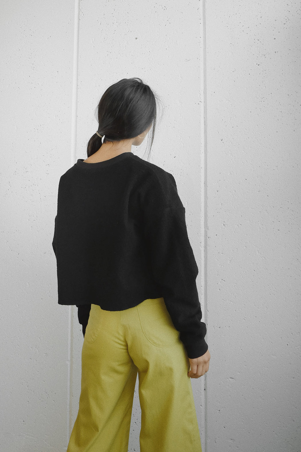 SELVA NEGRA | SANTI SWEATER | NEGRA | HAZEL & ROSE | MINNEAPOLIS