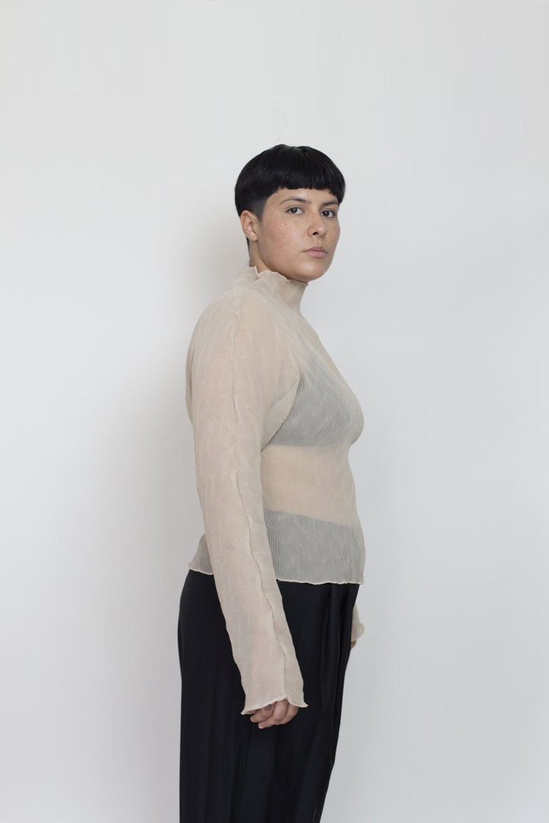 LS PLEATED TOP | SEMOLINA